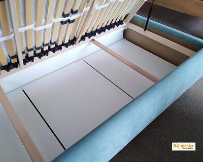 Aneta  I. Čalouněná postel s úl.prostorem - 3