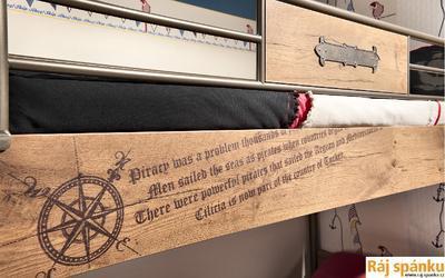 Black Pirate Postel Patrová 20.35.1401.00 - 3
