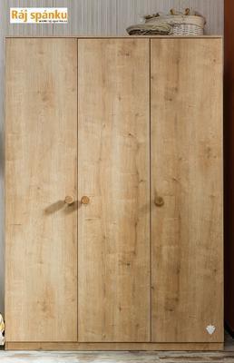 Mocha Šatní skříň 3-dveřová 20.30.1002.00 - 3
