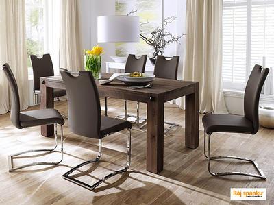 Koeln Jídelní židle s odpruženou podnoží - 4