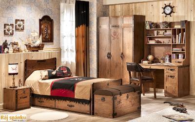 Black Pirate Noční stolek 20.13.1601.00 - 4