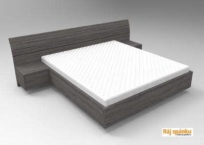 Flora postel s nočními stolky - 4
