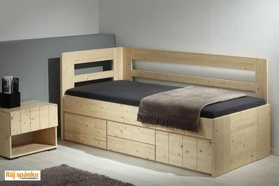 Hanny  smrková postel - 4