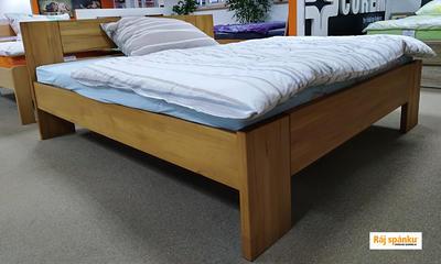 MAX masivní postel, 180x200 | 50 cm | Cherry - 4