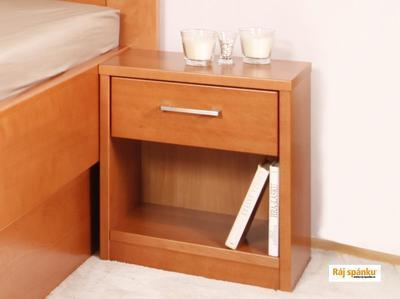 Noční stolek 1 zásuvka - 4