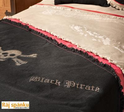Přehoz Black Pirate + 2 polštářky 21.04.4480.00 - 4