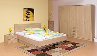 Novako postel s úložným prostorem - 4