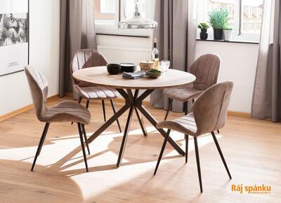 Lima jídelní židle - 5