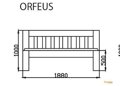 Orfeus postel - 5