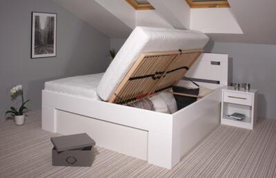 Varezza BOX - postel s úložným prostorem - 5