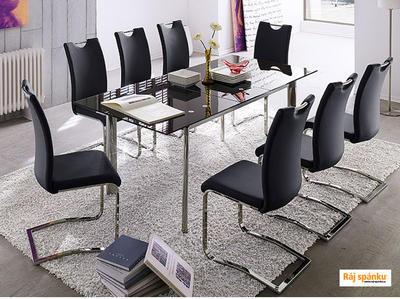 Koeln Jídelní židle s odpruženou podnoží - 5