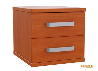 Flora Noční stolek 2 zásuvky - 6