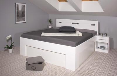 Varezza BOX - postel s úložným prostorem - 6