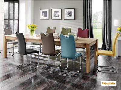 Koeln Jídelní židle s odpruženou podnoží - 6
