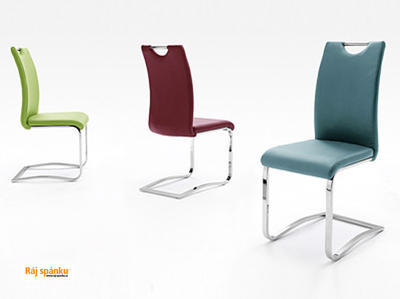 Koeln Jídelní židle s odpruženou podnoží - 7