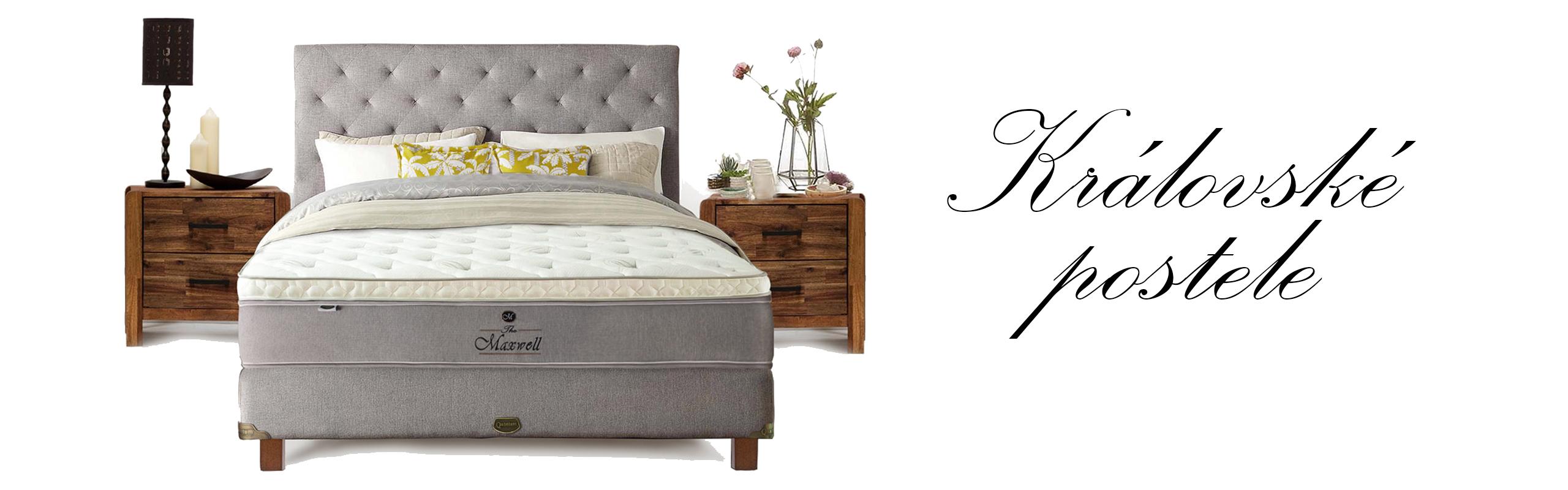 Královské postele v Ráji spánnku
