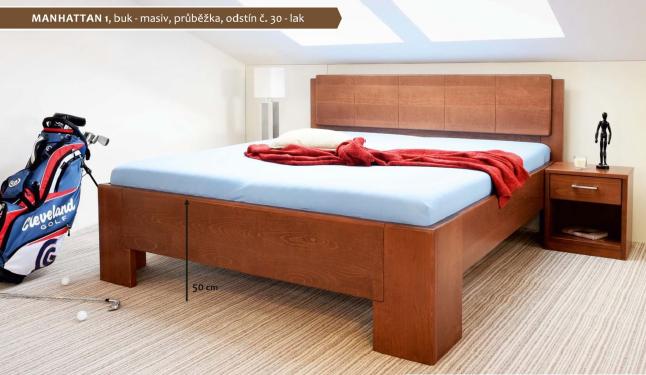 Vyvýšená postel Manhatten