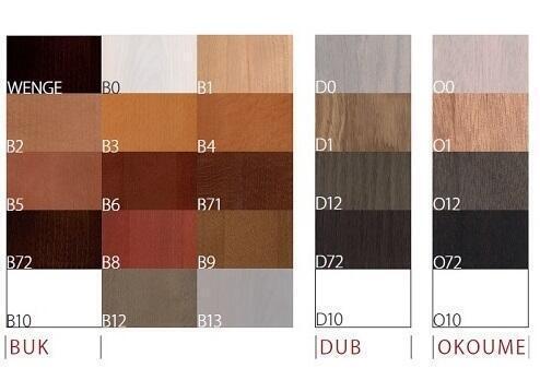 Vzorník barev Calipso